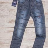 Крутые джинсы на подростка р. 32 (146 см)