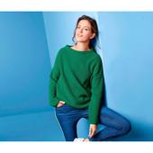 Шикарный вязаный теплый свитер оверсайз от Tchibo (германия) размер 44 евро=50-52