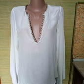 Zara Шелковая блузочка