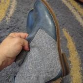 Осенние ботиночки. Натуральная кожа и текстиль.