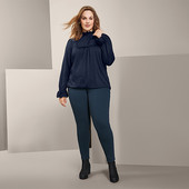 ☘ Шикарна та якісна блуза в офісному стилі від Tchibo (Німеччина), р.: 54-56 (48/50 евро)