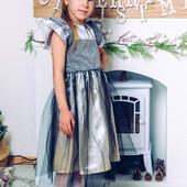Нарядное платье для девочки Школа