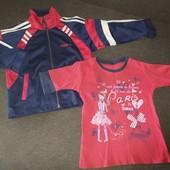 ❣️УП скидка.Удачная покупка Sportmen фирменная спортивка+ футболка одним лотом, 110-116 рост❣️