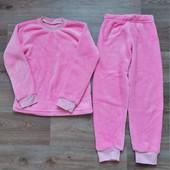 Тёплая плюшевая пижама для девочки