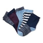 Лот-2шт!Для хлопчика-якісні шкарпетки з органічної бавовни, Tchibo (Німеччина), р .: 23-26