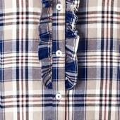 ☘ Фланелева стильна і м'яка сорочка, 100% бавовна, Tchibo (Німеччина), розміри наші: 52-54 (46 євро)