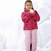 лыжная куртка на девочку от lupilu