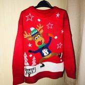 Яскравий светр на вік 4-5 років