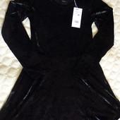 Платье из велюра от OVS Италия , размер 158