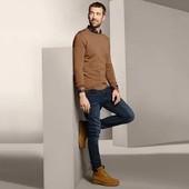 Приятный качественный свитер-пуловер из шерсти мериноса, от Tchibo(германия) размер около 52/54