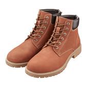 мужские стильные ботинки, натуральный нубук, от Crane