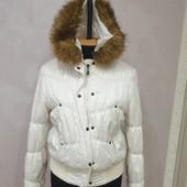 Теплая демисезонная куртка турецкой тм ICON в отличном состоянии, размер 42-52, смотрите замеры.