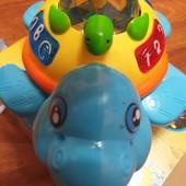 Новая игрушка детская «Музыкальная черепаха», со световыми и звуковыми эффектами
