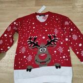 Новый свитерок с оленем.