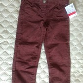 Штаны вельветовые Palomino от C&A (Германия), размер 110