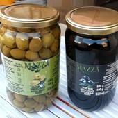Итальянские оливки. Одна банка на выбор. 800 мл. Большие