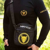 Крутая брендовая сумка через плечо, мессенджер miracle