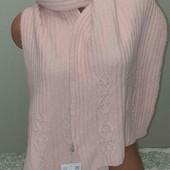 Мягенький тёплый шарф с камнями от C&A