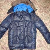 Очень теплая, не продуваемая зимняя куртка на 5-6 лет