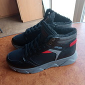нові черевики зима 37,38 р /шт/ якість