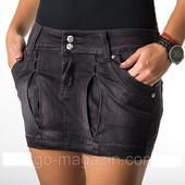 Юбки мини, стрейч джинс, новые. Турция Р-р 28 и 30.