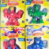 Игрушка Супергерой   игрушка антистресс   Іграшка-тянучка гуджитсу супергерої   Игрушка-тянучка