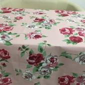 Красивая нежная практичная скатерть из хлопка 100*150 см