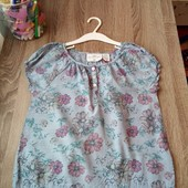Стоп!! Фирменная удобная яркая натуральная красивая стильная блуза от h&m