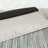 Шпателькондитерский металлический с розметкой для разделки теста