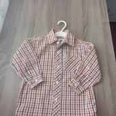 Стоп!! Фирменная удобная яркая натуральная красивая стильная рубашка от palomino