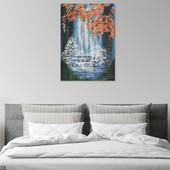 Картина Водопад под сакурой