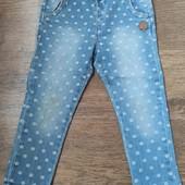 Детские джинсы в горошек zara 92 р