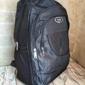 Мужской вместительный рюкзак на 3 отделения.