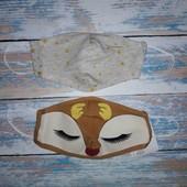 Набор из 2х штук - маска для лица C&A, Германия, 9*18