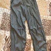 Спортивні штани на трикотажній підкладці на 11-12 років зріст 146-152