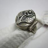 Кольцо перстень с секретом новое украшение натуральное серебро 925