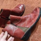 Кожаные ботиночки 24.5см