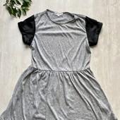 Платье серое фирменное M,L