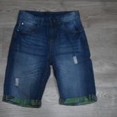 Стильные джинсовые шорты Chapter Young 12-13(158) Сост.отл!