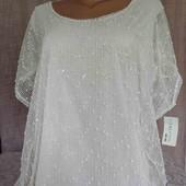 новая ажурная блуза . Италия