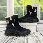 Супер! Темно синие! Шикарные зимние ботинки. Лёгкие,теплые,красивые.Украина! ..