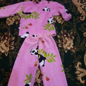 пижама плюшевая