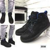 Мужские зимние ботинки,натуральная кожа.40,41,43 в наличии