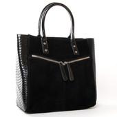 Стильная замшевая сумка от Alex Rai