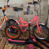 Велотехника, Велосипед, Велобег,3-7 лет