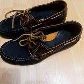 Кожаные туфли Camel 23 см по стельке р.33