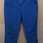 Легкие джинсы..Мягкий стрейч.. Длина 7/8.. р 56..Поб 58-66