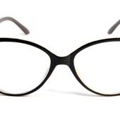 """Дополнение Вашего образа !Стильные имиджевые очки """"Кошечки""""и Лисички с диоптриями + 3,5"""