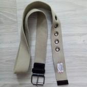Фирменный пояс унисекс под джинсы длина 118 см в отличном состоянии
