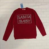 Пуловер,свитерок новогодний 146/152